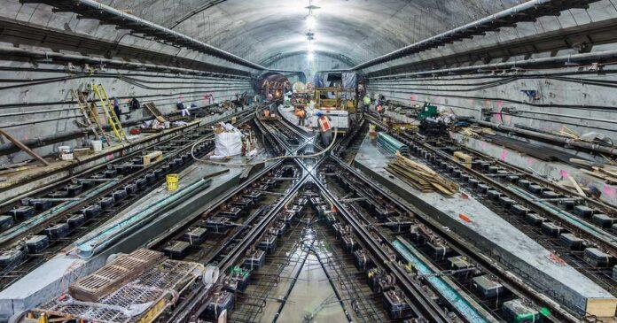 Skanska tunnelbana Manhattan