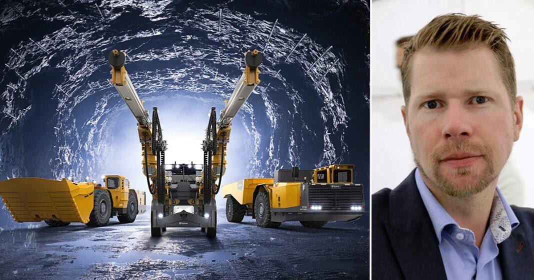 Erik Svedlund Epiroc Elektrifiering