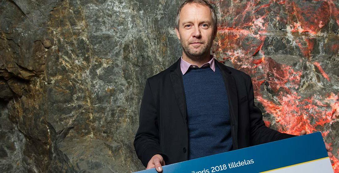 Jan Kläre vann Bergteknikpriset