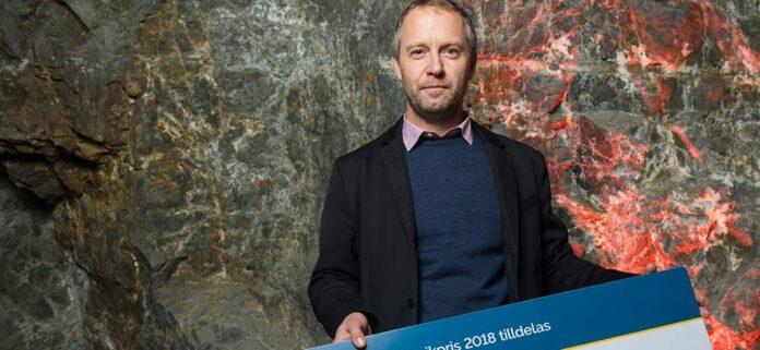 Epirocs Bergteknikpris 2018 till Jan Kläre