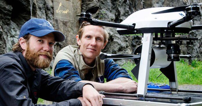 Drönare från LTU kartlägger geologi
