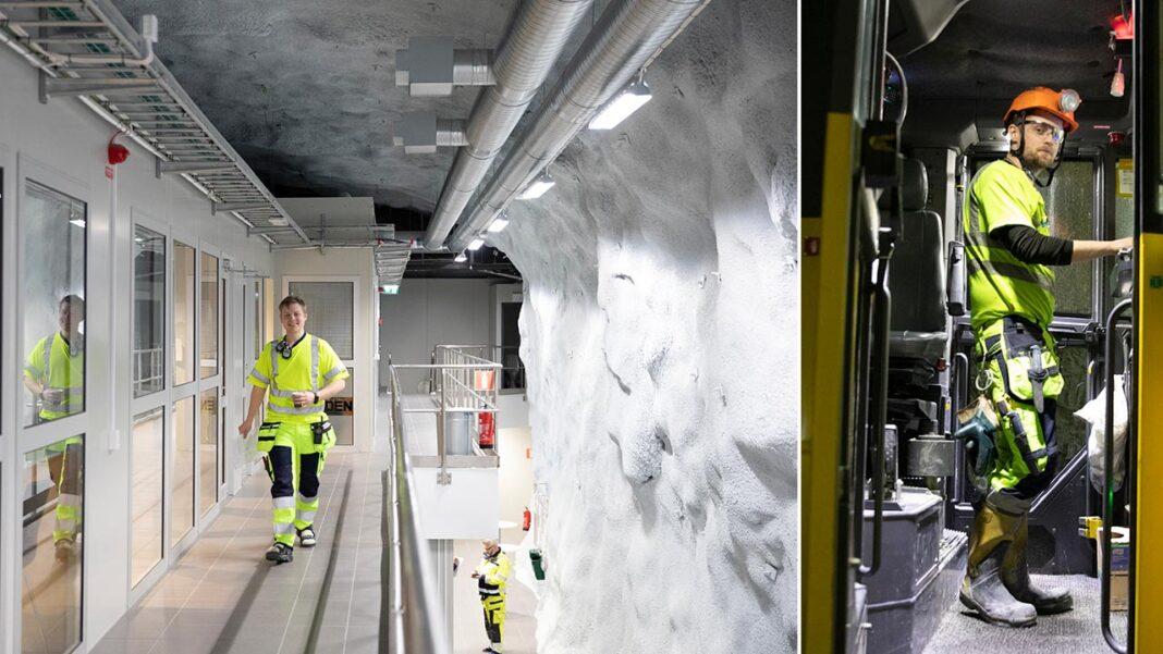 Automatisering av gruva i Garpenberg