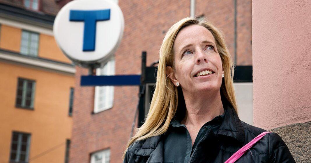 Nya tunnelbanan - Anna Nylén