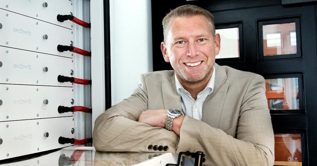 Peter Carlsson är vd för Northvolt