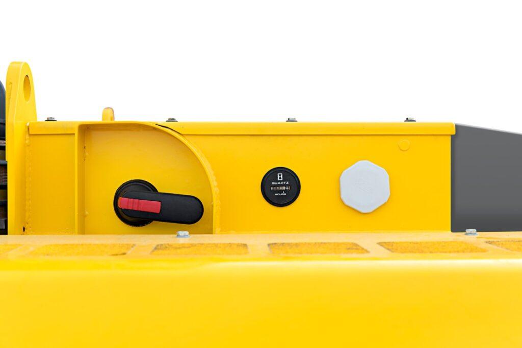 Batteriet på en klimatsmart gruvmaskin en Epiroc Boomer E2