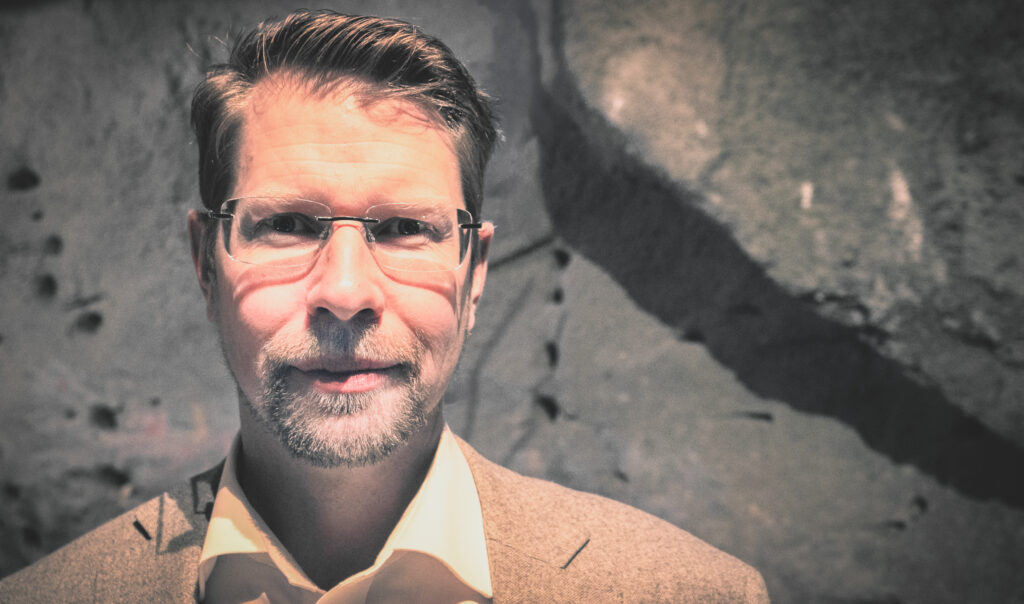 Erik Svedlund Epiroc i Sickla Gruva