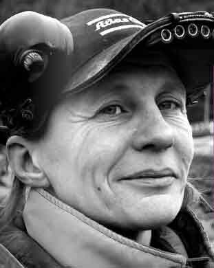Lisa Nilsson, 57 år. Driver Lisas Bergsprängning sedan 1990, och tar just nu framför allt konsultuppdrag för andra entreprenörer.